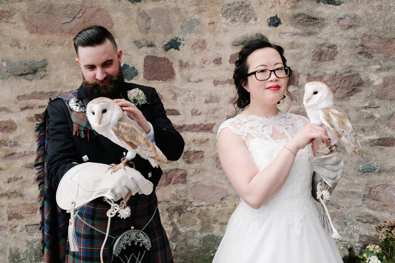 Chinese, Fingask Castle, Perthshire, Scottish, Wedding Photography