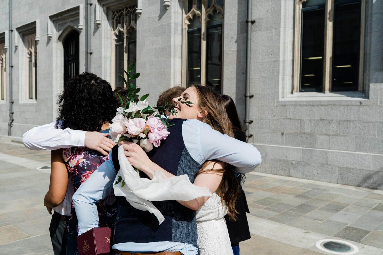 Aberdeen, Marischal College, Micro Wedding, Wedding Photography