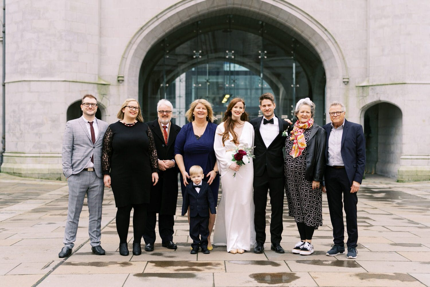 Aberdeen, Marischal College, Microwedding, Wedding Photography