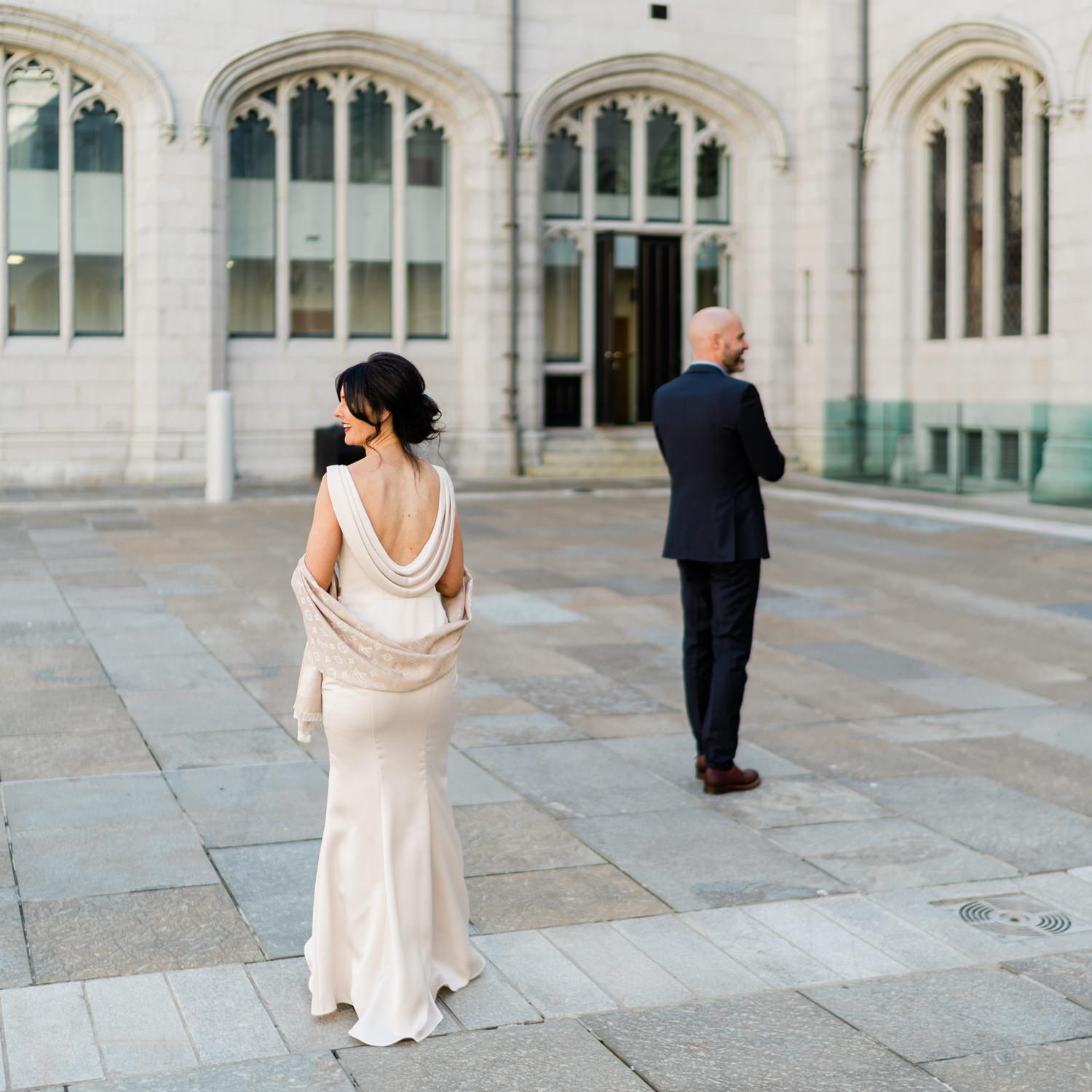 Aberdeen, Marischal College, Micro Wedding, Wedding Photography
