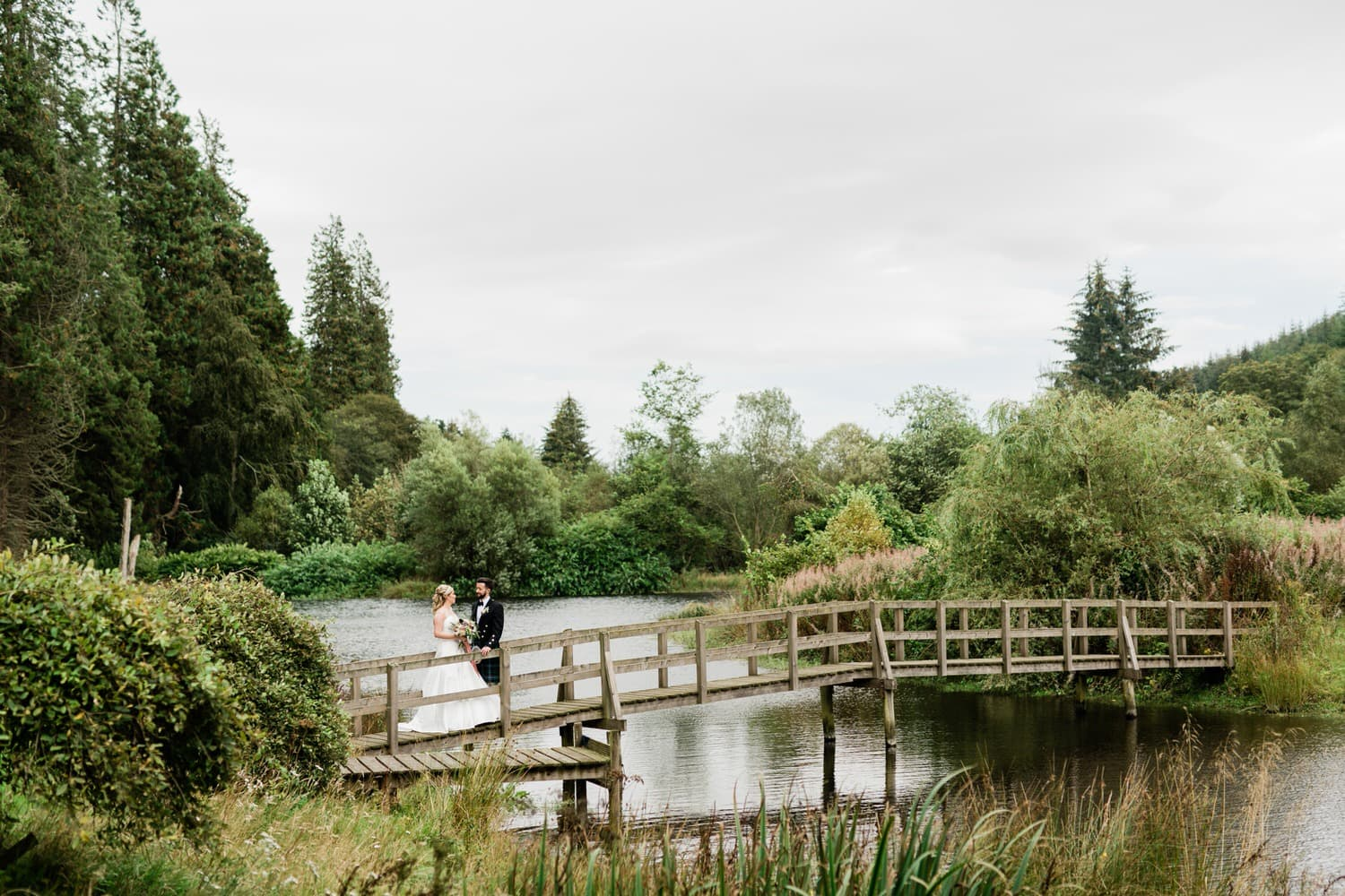 Aberdeenshire, Drumtochty Castle, Wedding Photography