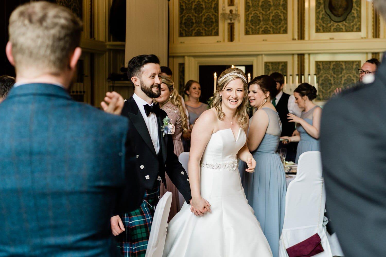 Wedding at Drumtochty Castle Ballroom Aberdeenshire Scotland