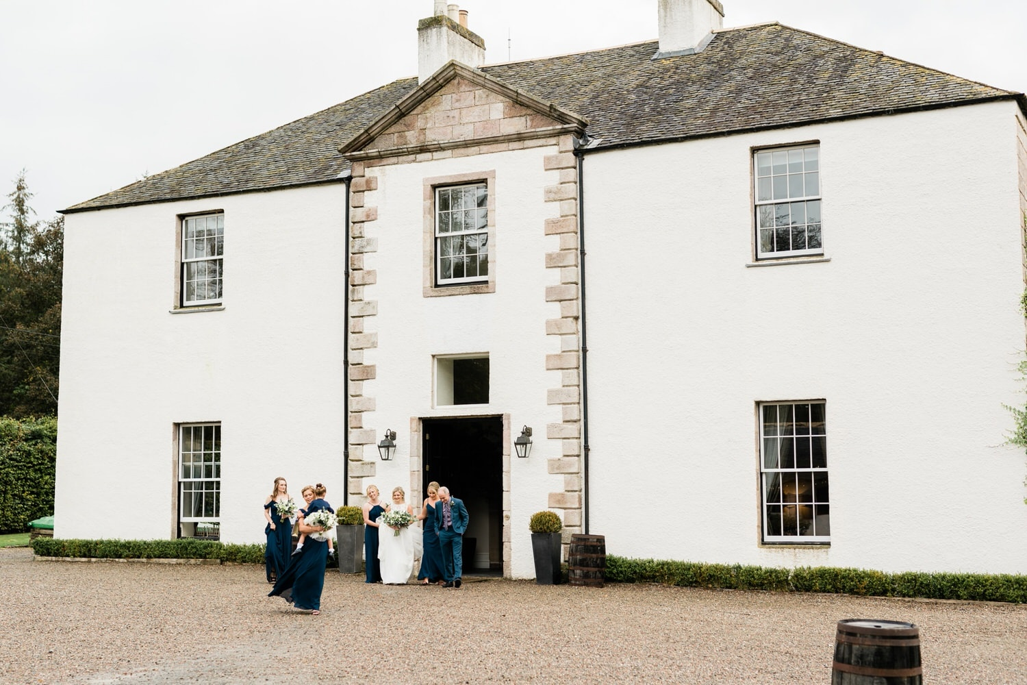 Aberdeenshire, Logie Country House, Wedding Photography