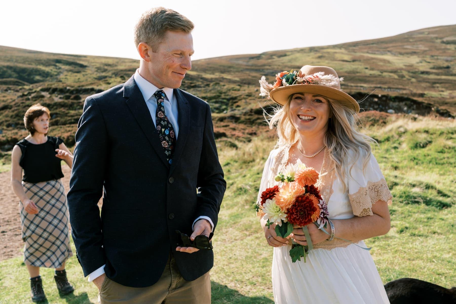 Loch Callater, Micro Wedding, Scottish Highlands